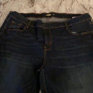 Women's plus size jeans straight leg